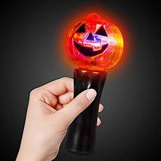 Light Up Halloween Accessories Led Pumpkin Spinner Wand Glow And Light Up Products