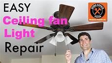Ceiling Light Repair Ceiling Fan Light Repair Save 90 In 10 Minutes Home