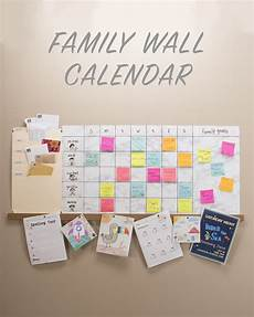 Family Schedule Organizer Weekly Family Wall Calendar Keep On Track With Your