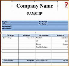 Salary Slip Format India How To Make Salary Slip Format In Pdf Excel Word How