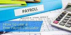 Payroll Withholding Calculator How To Use A Free Payroll Calculator