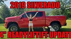 2019 Silverado Update by 2019 Silverado 4 Quot Readylift Nitto Ridge Grapplers Trex