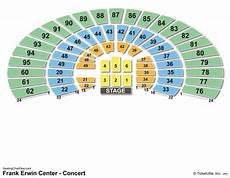 Frank Erwin Center Seating Chart Seat Numbers Frank Erwin Center Seating Chart Seating Charts Amp Tickets