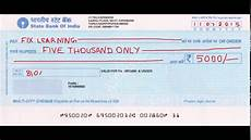 How To Write A Check How Will You Write A Cheque Correctly Banking Basics In