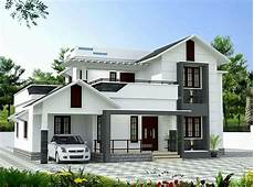 4 Bhk House Design Plans 1832 Square Feet 4 Bhk Beautiful Slop Roof Modern House