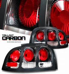 Ford Mustang Euro Lights Ford Mustang 1994 1998 Carbon Fiber Euro Lights By Ks