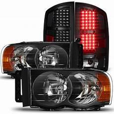 2002 Dodge Ram Light Problems Fit 2002 05 Dodge Ram 1500 03 05 Ram 2500 3500 Black