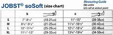 Jobst Compression Measuring Chart Jobst Women S Sosoft Ribbed Pattern 8 15 Mmhg Closed Toe