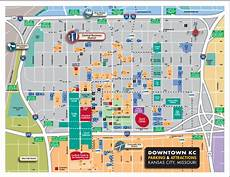 Power And Light District Map Big 12 Tournament Road Closures And Parking