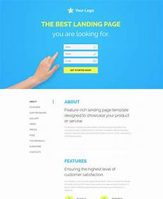 Video Landing Page Template 30 Of The Best Responsive Landing Page Templates For 2016