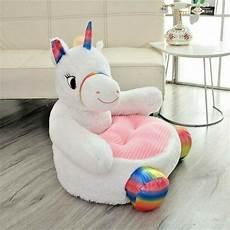 unicorn infant baby seats soft sofa animal