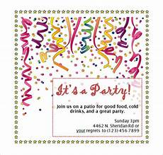 Ms Word Invitation Templates Free Download 50 Microsoft Invitation Templates Free Samples