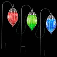 Diy Stakes For Christmas Lights Lightshow Multi Color Shooting Star Pathway Ornament