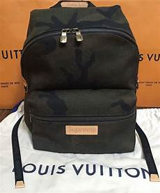 supreme backpack louis vuitton x supreme apollo backpack camouflage camo