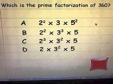 What Is Prime Factorization Prime Factorization With Exponents Youtube