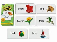 Flash Cards Words Picture Words Flash Cards Set 1 At Lakeshore Learning