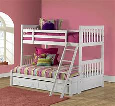 bunk bed white finish 1528bbf