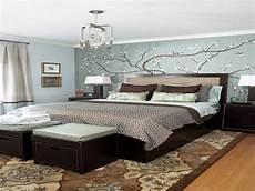Blue Bedrooms Decorating Ideas Blue Modern Bedroom Small Master Bedroom Decorating