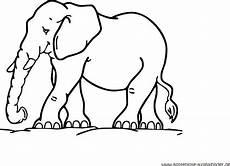 kostenlose ausmalbilder ausmalbild elefant