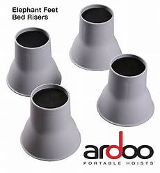 bed risers elephant legs set of 4