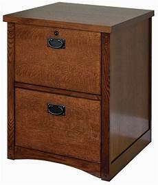 mission oak 2 drawer locking wood file cabinet fits