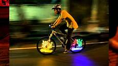 Bicycle Wheel Lights Youtube Anvii Wireless Wheel Ad Led Light Painting On Bicycle
