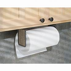 interdesign twillo paper towel holder for kitchen wall