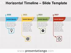 Horizontal Timeline Template Horizontal Timeline For Powerpoint And Google Slides