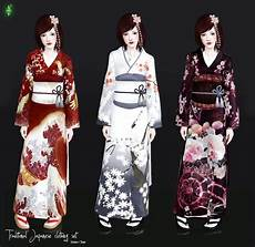 japanese clothes for mod the sims updated traditional japanese clothing set