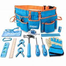 Bosch Kinder Werkzeuge Leder hi spec 16 teiliges kinder werkzeug kit mit werkzeugg 252 rtel