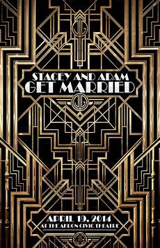 Great Flyers The Great Gatsby Flyer Weddings Flyer Templates On