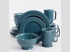 16 Piece Dinnerware Set Kitchen Banquet Round Plates Cups