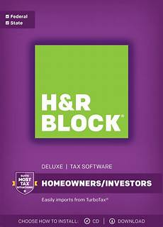 H R Block Customer Service H Amp R Block Tax Software Deluxe Amp State 2017 Walmart Com