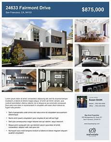 Home Sale Flyer Template Real Estate Flyer Free Templates Zillow Premier Agent