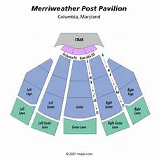 Merriweather Post Seating Chart 2018 Merriweather Post Pavilion Seating Chart