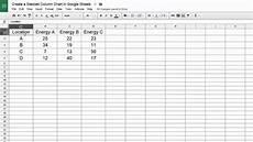 Google Sheets Multiple Charts Google Sheets Create A Stacked Column Chart Youtube