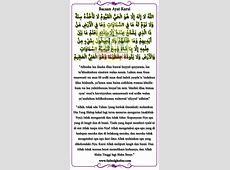 Tulisan Arab Latin Ayat Kursi Dan Artinya