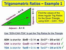 Trigonometry Ratios Trigonometric Ratios Passy S World Of Mathematics