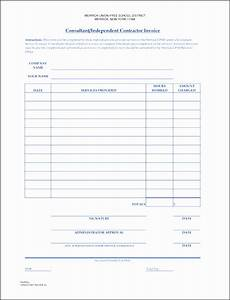 Contract Invoice Template 9 Construction Contractor Invoice Template