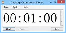 Downloadable Timer Desktop Countdown Timer Standaloneinstaller Com