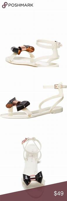 Ted Baker Shoes Size Chart New Ted Baker Louwla Sandals In Cream Nwt Ted Baker