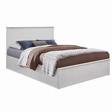 fairmont 4ft6 white ottoman bed frame faotb46wht