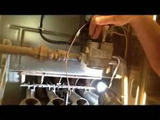 How To Change A Pilot Light How To Adjust Furnace Pilot Light Youtube