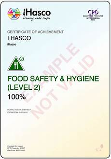 Level 2 Food Safety Questions Food Safety And Hygiene Training Level 2 Training Ihasco