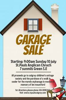 Garage Sale Poster Ideas Copy Of Garage Sale Template Postermywall