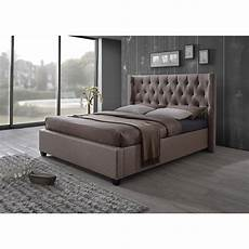kensington platform bed shaped tufting