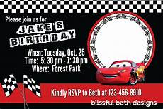 Cars Birthday Invitation Templates Free Printable Disney Cars Birthday Party Invitations