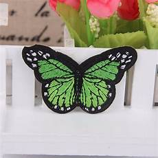 embroidery butterfly sew iron on patch badge embroidered