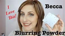 Becca Soft Light Powder Becca Soft Light Blurring Setting Powder Glamglow