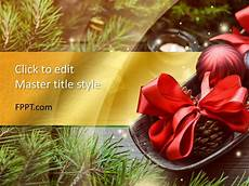 Free Christmas Ppt Templates Free Christmas Ornament Powerpoint Template Free